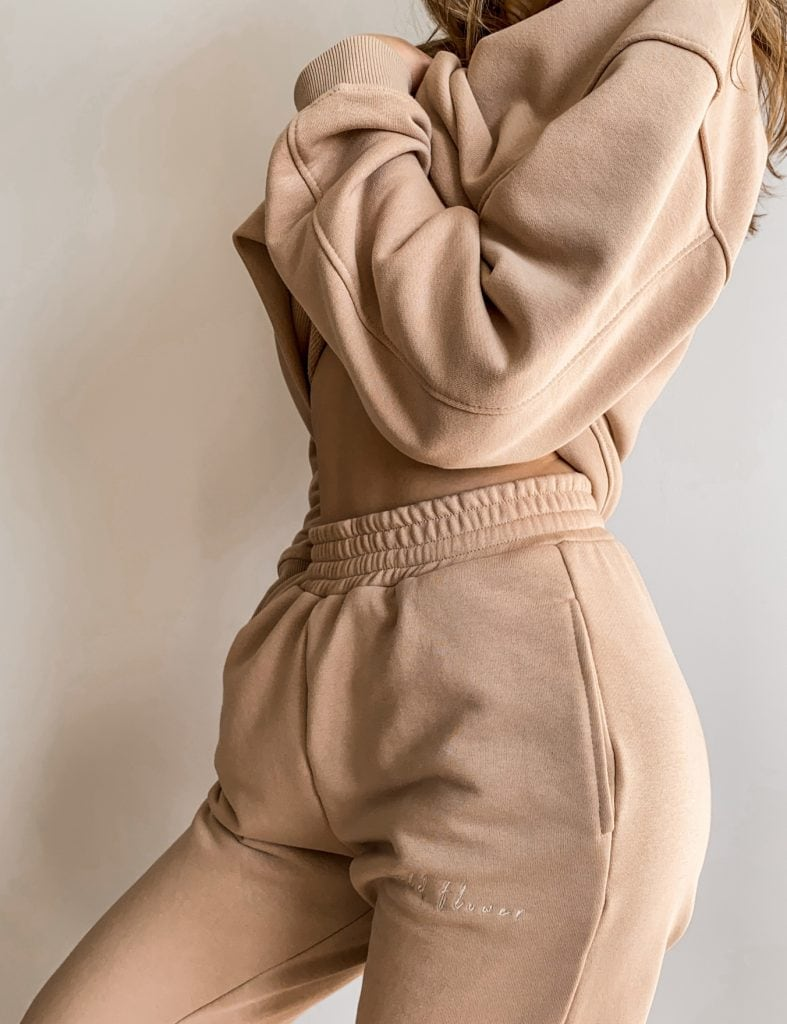 spodnie dresowe z kieszeniami damskie